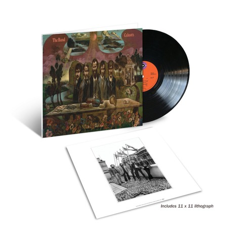Cahoots - 50th Anniversary by The Band - Exclusive 180g Half-Speed Mastered Gatefold Black LP + Litho - shop now at uDiscover store