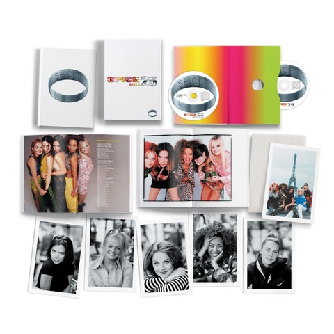 Spice (25th Anniversary) (2CD A5 Digipack in Slipcase with Postcard) by Spice Girls - 2CD - shop now at uDiscover store