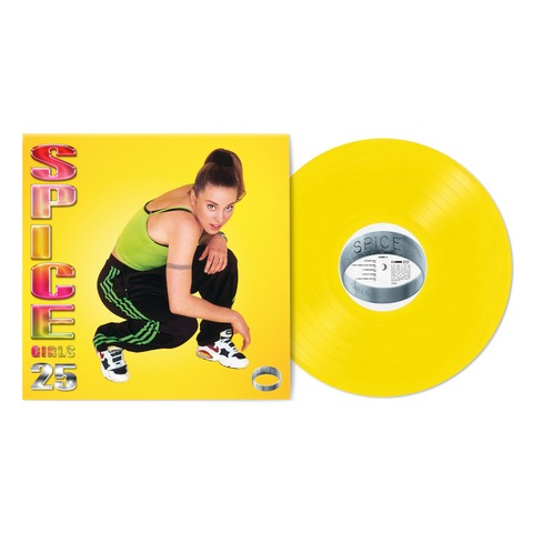 Spice (25th Anniversary) (Exclusive 'Sporty' Yellow Coloured 1LP) by Spice Girls - lp - shop now at uDiscover store