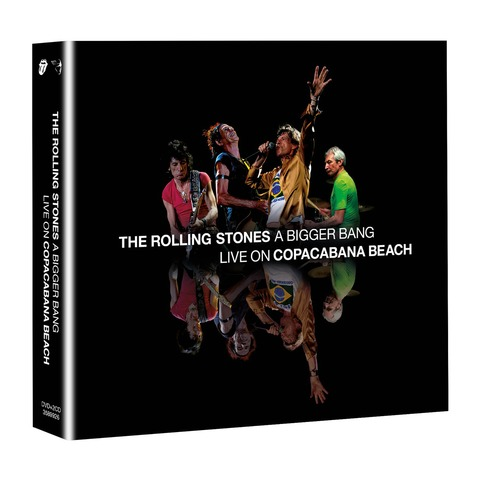 √A Bigger Bang - Live On Copacabana Beach (DVD + 2CD Audio) von The Rolling Stones - DVD + 2CD jetzt im uDiscover Shop