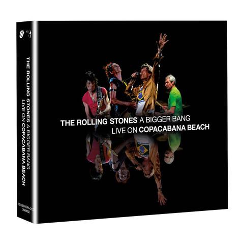 √A Bigger Bang - Live On Copacabana Beach (BluRay + 2CD Audio) von The Rolling Stones - BluRay + 2CD jetzt im uDiscover Shop