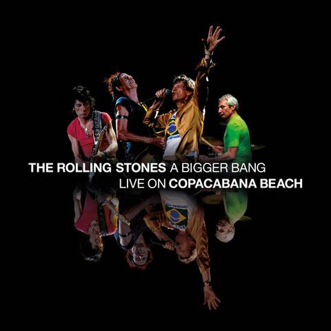√A Bigger Bang - Live On Copacabana Beach von The Rolling Stones - DVD jetzt im uDiscover Shop