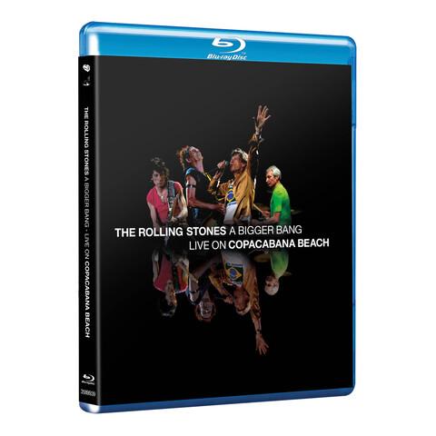 √A Bigger Bang - Live On Copacabana Beach von The Rolling Stones - BluRay jetzt im uDiscover Shop