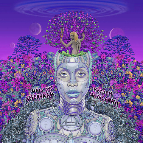 New Amerykah Part Two by Erykah Badu - Ltd. Colored 2LP - shop now at uDiscover store