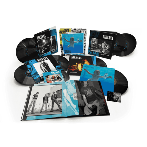 Nevermind 30th Anniversary Edition by Nirvana - Boxset (8LPs + 7inch) - shop now at uDiscover store