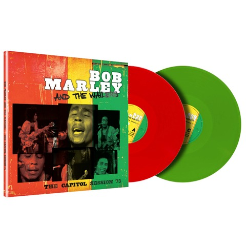 The Capitol Session '73 (Limited Trans Green + Trans Red 2LP) by Bob Marley & The Wailers - 2LP - shop now at uDiscover store