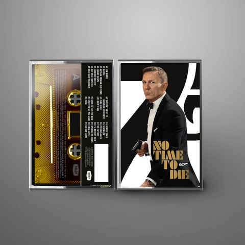 Bond 007: No Time To Die (Excl. Ltd. Cassette) by Hans Zimmer - MC - shop now at uDiscover store