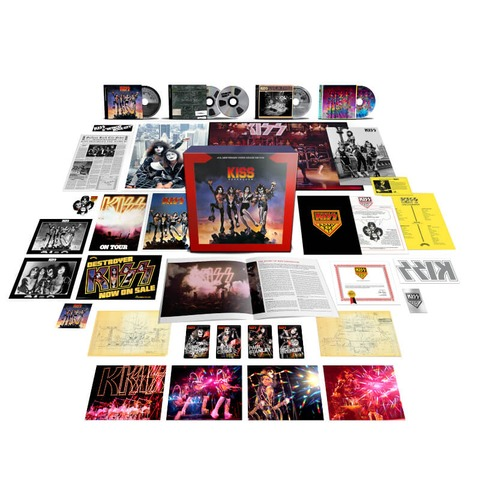 Destroyer 45 by Kiss - Exclusive Super Deluxe 4CD + Blu-ray Audio - shop now at uDiscover store