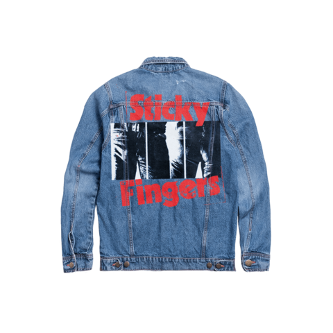Sticky Fingers by The Rolling Stones - Denim Jacket - shop now at uDiscover store