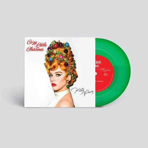 Cozy Little Christmas by Katy Perry - Translucent Green 7Inch Vinyl - shop now at uDiscover store