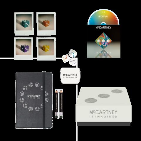 √III Imagined - Ltd. Edition Dice, Notebook & CD Boxset von Paul McCartney - Box jetzt im uDiscover Shop