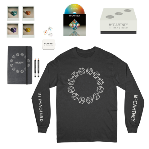 III Imagined (Ltd. Box + Black Longsleeve) von Paul McCartney - Box +  Longsleeve jetzt im uDiscover Shop