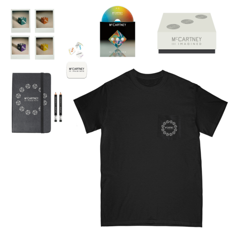 √III Imagined (Ltd. Box + Black Pocket T-Shirt) von Paul McCartney -  jetzt im uDiscover Shop