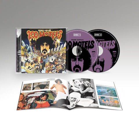 200 Motels - Original Motion Picture Soundtrack (50th Anniversary) by Frank Zappa - 2CD - shop now at uDiscover store