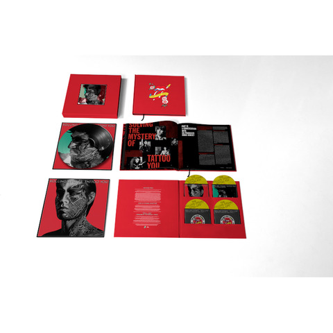 Tattoo You (40th Anniversary Remastered Super Deluxe 4 CD Boxset) by The Rolling Stones -  - shop now at uDiscover store