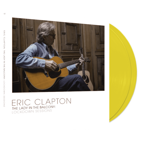The Lady In The Balcony: Lockdown Sessions by Eric Clapton - Ltd. Colored 2LP - shop now at uDiscover store
