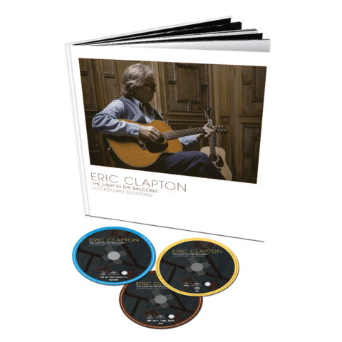 The Lady In The Balcony: Lockdown Sessions by Eric Clapton - Ltd. Deluxe Boxset DVD/BD/CD - shop now at uDiscover store