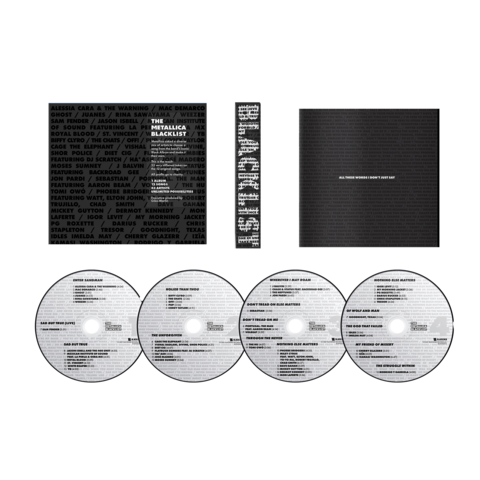 The Metallica Blacklist - 4CD by Various Artists -  - shop now at uDiscover store