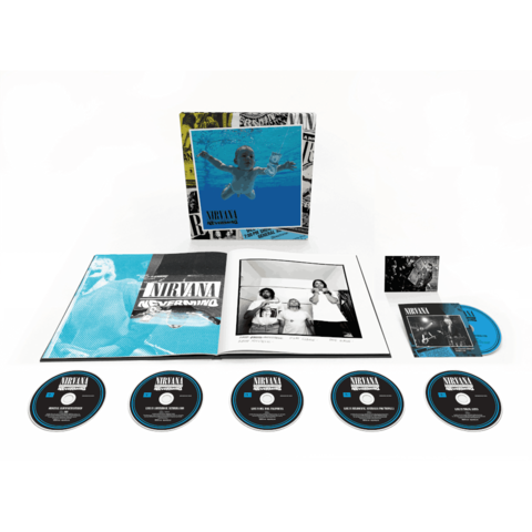 Nevermind 30th Anniversary Edition by Nirvana - Boxset (5CD / 1BluRay) - shop now at uDiscover store