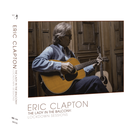 The Lady In The Balcony: Lockdown Sessions by Eric Clapton - DVD+CD - shop now at uDiscover store