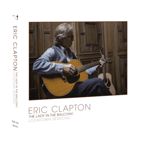 The Lady In The Balcony: Lockdown Sessions by Eric Clapton - BluRay+CD - shop now at uDiscover store