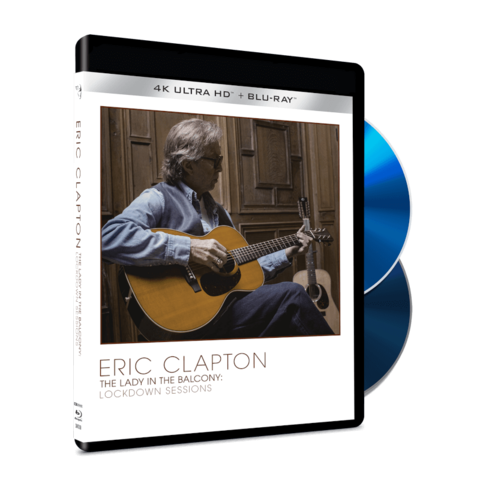 The Lady In The Balcony: Lockdown Sessions by Eric Clapton - Ltd. 4K UHD+BluRay - shop now at uDiscover store
