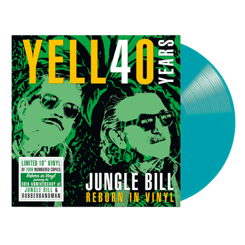 Jungle Bill - Reborn In Vinyl by Yello - Ltd. Colored 10inch LP - shop now at uDiscover store