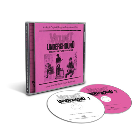 A Documentary Film By Todd Haynes - Music From The Motion Picture Soundtrack (2CD) by The Velvet Underground - 2CD - shop now at uDiscover store
