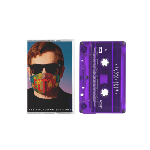 The Lockdown Sessions by Elton John - Exclusive Transparent Purple Cassette - shop now at uDiscover store