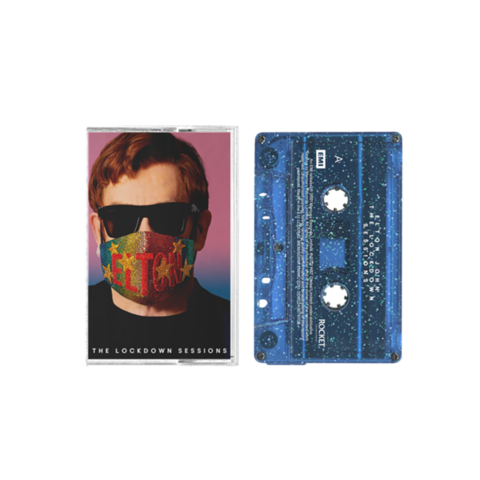 The Lockdown Sessions by Elton John - Exclusive Blue Glitter Cassette - shop now at uDiscover store