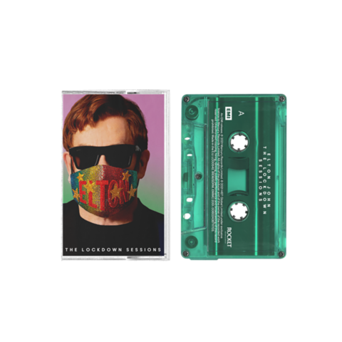 The Lockdown Sessions by Elton John - Exclusive Transparent Green Cassette - shop now at uDiscover store