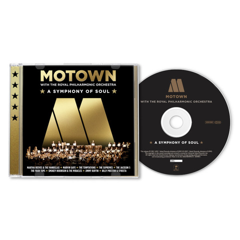 Motown: A Symphony Of Soul (With The Royal Philharmonic Orchestra) by Various Artists - Motown - CD - shop now at uDiscover store