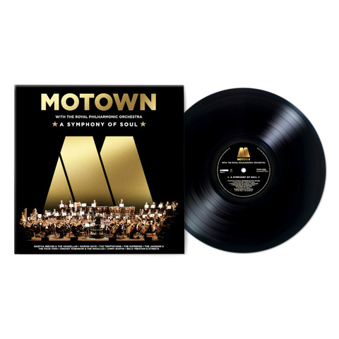 Motown: A Symphony Of Soul (With The Royal Philharmonic Orchestra) by Various Artists - Motown - lp - shop now at uDiscover store