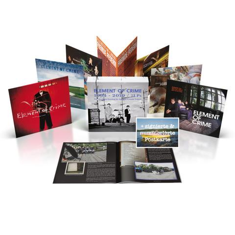 Vinyl Box 1994-2010 (Ltd. signiert) von Element Of Crime - Vinyl Box jetzt im uDiscover Store