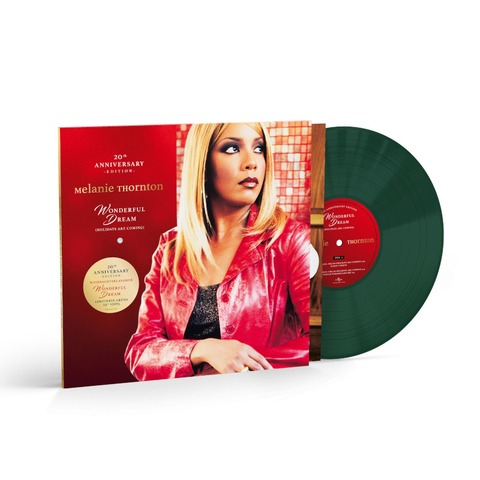 Wonderful Dream (Holidays Are Coming) (20th Anniversary Edition) by Melanie Thornton - Limited Dark Green 10Inch Vinyl - shop now at uDiscover store