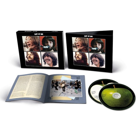 Let It Be (Special Edition) (Deluxe 2CD) by The Beatles - 2CD - shop now at uDiscover store