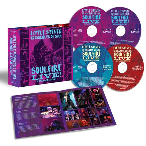 √Soulfire Live (4CD) von Little Steven & The Disciples Of Soul -  jetzt im uDiscover Shop