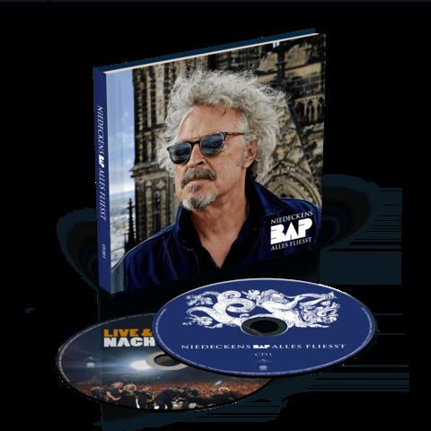 √Alles fliesst (Ltd. Deluxe Hardcoverbuch inkl. Bonus Live CD) von Niedeckens BAP - 2CD jetzt im uDiscover Shop