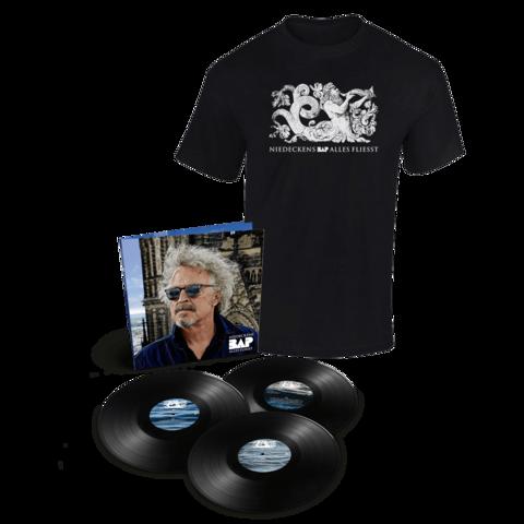 √Alles fliesst (3LP inkl. Bonus Live LP + T-Shirt, Gr. XL) von Niedeckens BAP -  jetzt im uDiscover Shop