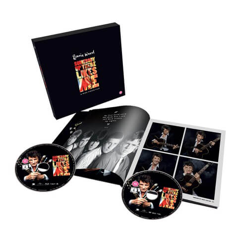Somebody Up There Likes Me (Ltd. Hardback Book - DVD+BD) von Ronnie Wood - DVD+BD jetzt im uDiscover Shop