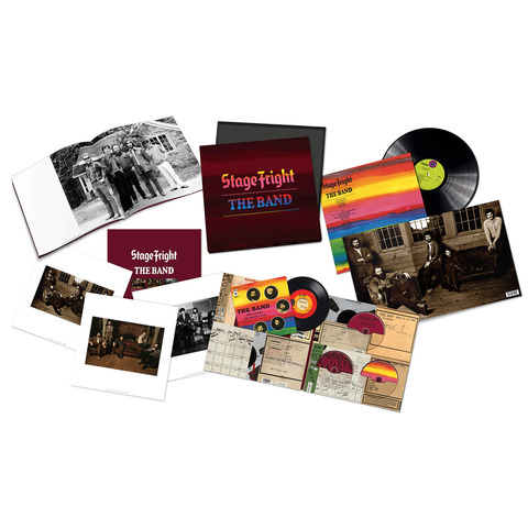 √Stage Fright - 50th Anniversary (Ltd. Super Deluxe Boxset) von The Band - Box set jetzt im uDiscover Shop