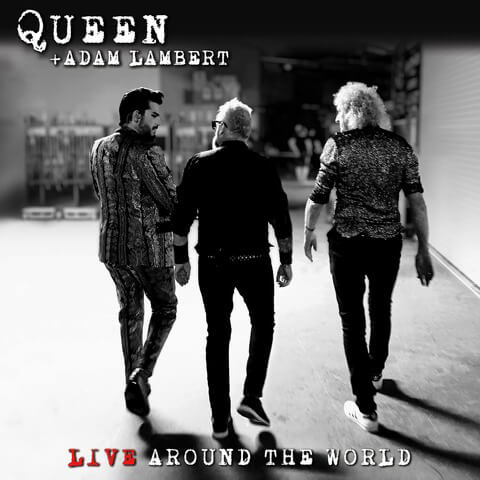 √Live Around The World (CD + DVD) von Queen + Adam Lambert -  jetzt im uDiscover Shop