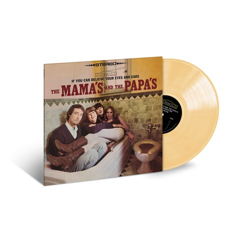 If You Can Believe Your Eyes (Ltd. Opaque Yellow Vinyl) von The Mamas & The Papas - Coloured LP jetzt im uDiscover Shop