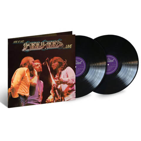Here At Last ... Bee Gees Live (2LP) von Bee Gees - 2LP jetzt im uDiscover Shop