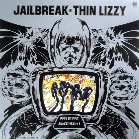√Jailbreak (LP Re-Issue) von Thin Lizzy - LP jetzt im uDiscover Shop