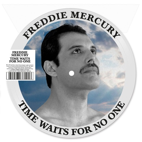√Time Waits For No One (Picture Disc) von Freddie Mercury - LP jetzt im uDiscover Shop