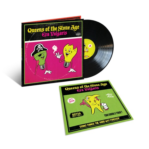 Era Vulgaris (Vinyl Reissue) von Queens Of The Stone Age - LP jetzt im uDiscover Shop