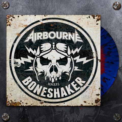 √Boneshaker (Ltd. Blue & Red Splatter LP) von Airbourne - LP jetzt im uDiscover Shop
