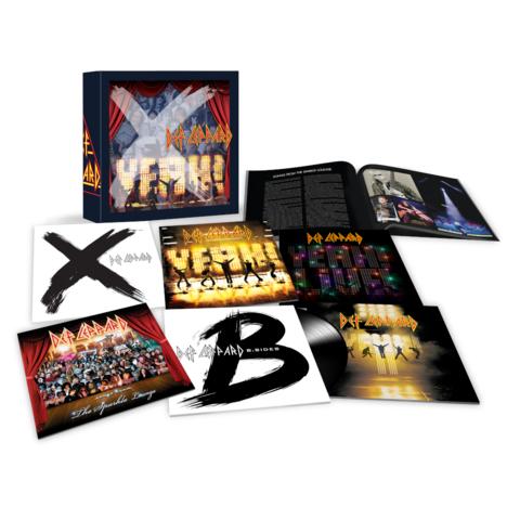 √The Vinyl Boxset: Volume Three (9LPs) von Def Leppard - Box set jetzt im uDiscover Shop