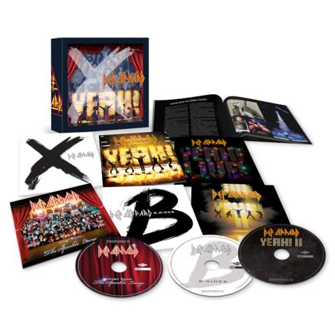 √The Vinyl Boxset: Volume Three (6CDs) von Def Leppard - Box set jetzt im uDiscover Shop